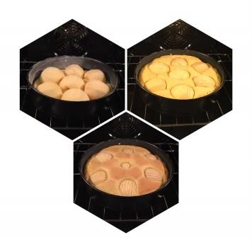 Apfelkuchen_in oven