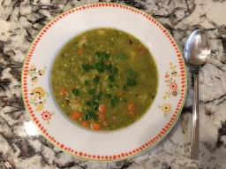 Split Pea Soup (Erbsensuppe)